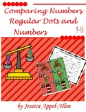 Comparing Numbers Christmas 1-9