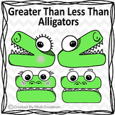Comparing Numbers Clip Art - Greater Than Less Than Line A
