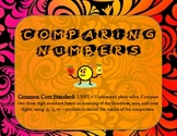 Comparing Numbers Common Core (2NBT.4) Game