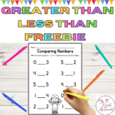 Greater Than Less Than Equal To Math Worksheet l Comparing