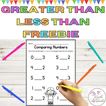 Comparing Numbers Common Core Math Worksheet