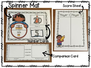 Comparing Numbers Mega BUNDLE! (Common Core and Texas TEKS Aligned)