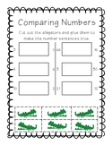 Comparing Numbers Cut and Paste