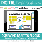 Comparing Numbers Digital Task Cards | Boom Learning Cards