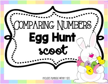 Comparing Numbers Egg Hunt