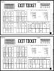 Comparing Numbers Exit Tickets - Differentiated Math Assessment - Quick Check