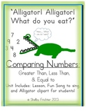 Comparing Numbers - FUN Lesson, Song, & Activity