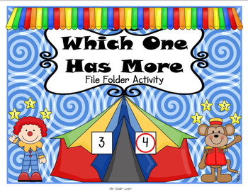 Comparing Numbers File Folder Activity