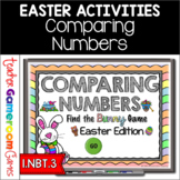 Comparing Numbers Find the Bunny Powerpoint Game