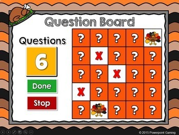 Comparing Numbers - Find the Turkey PPT Game - Thanksgiving Edition