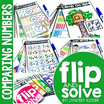 Comparing Numbers - Flip and Solve Books