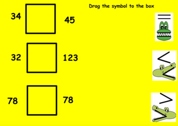 Comparing Numbers Flipchart