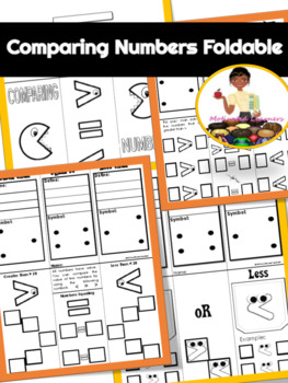 Comparing Numbers Interactive Notebook (Foldables) Greater than, Less than
