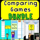 Comparing Numbers Game BUNDLE (single, double, triples dig