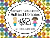 Comparing Numbers Game: Roll and Compare