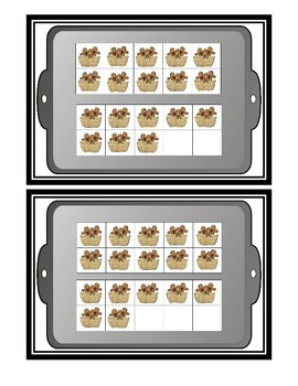 Comparing Numbers * Gingerbread Ten Frames