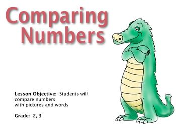 Comparing Numbers Grade 1-3 SMARTBOARD