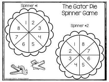 Comparing Numbers Greater Gator: A Greater or Lesser Than Unit