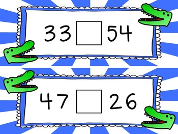 Comparing Numbers-Greater Than Less Than