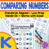 Comparing Numbers to 10 Worksheets   Greater Than Less Tha