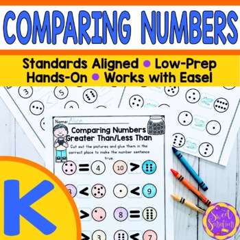 Kindergarten Comparing Numbers: Greater Than, Less Than, E