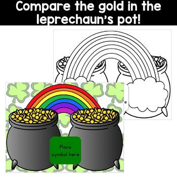 Comparing Numbers: Greater Than, Less Than, Equal - St. Patrick's Game