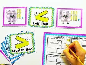 Greater Than, Less Than, Equal To- 1st Grade (1.NBT.B.3)