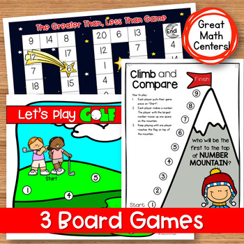 Comparing Numbers: Greater Than, Less Than, Equal To Worksheets and Games