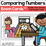 Comparing Numbers | Greater Than Less Than Number Choice B