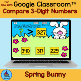 Comparing Numbers Greater Than Less Than Spring Bunnies