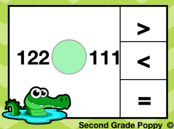Comparing Numbers: Greater Than Less Than Task Cards