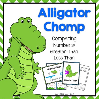 Greater Than Less Than Alligator Poster Teaching Resources ...