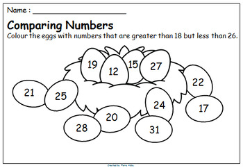 Comparing Numbers - Greater Than and Less Than