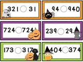 Comparing Numbers Halloween {Freebie}