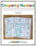 Comparing Numbers Handwriting Practice