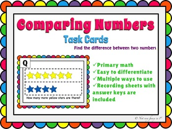 Comparing Numbers: How many more?