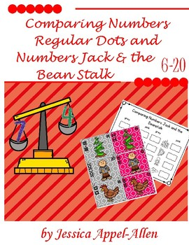 Comparing Numbers Jack and the Beanstalk 6-20