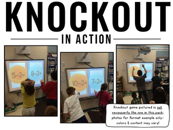 Comparing Numbers KNOCKOUT {Greater Than, Less Than}