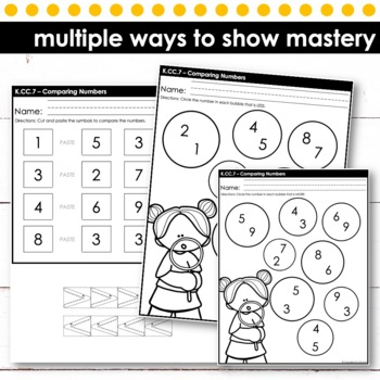 Comparing Numbers | Kindergarten Math