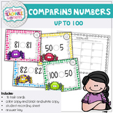 Comparing Numbers Less Than Greater Than Up to 100