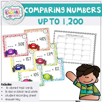 Comparing and Generating Numbers Less Than Greater Than to 1,200