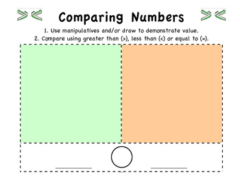 Comparing Numbers Mat