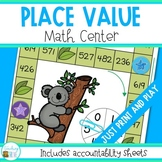 Place Value Game - Comparing Numbers Math Center