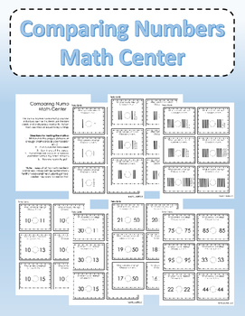 Comparing Numbers Math Center