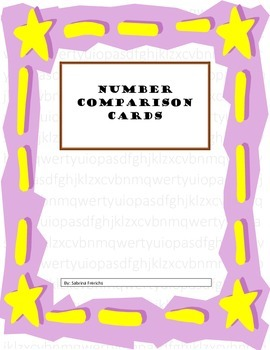 Comparing Numbers Math Mat