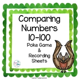 Comparing Numbers Math Poke Game