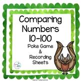 Comparing Numbers Math Poke Game