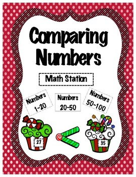 Comparing Numbers Math Station