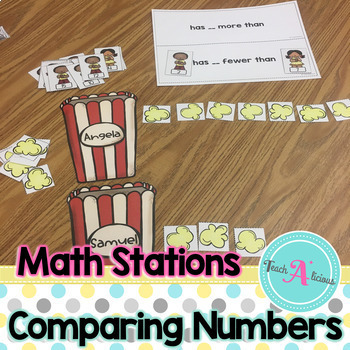 Comparing Numbers - Math Stations