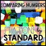 Comparing Numbers Math Stations Kindergarten